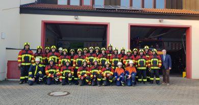 Ein Grund zum Feiern! – 145 Jahre Feuerwehr Sand & 30 Jahre Jugendfeuerwehr